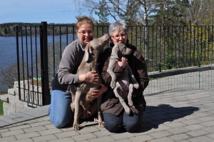 Anci @ Scuba´s knls, DAMIT, Marilyn @ Quadet knls, UNDRA. photo: Elisabeth Beskow